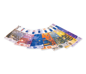Billetes euro, set 49 u.