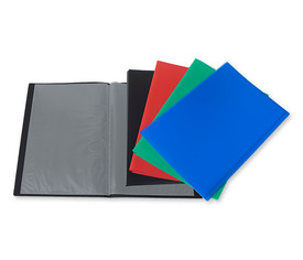 Carpeta color 20 fundas folio