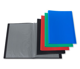 Carpeta color 40 fundas folio