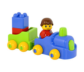 Color bricks, contenedor 24 pzs.