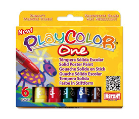 PlayColor 10 g - Estuche 6 u. col. surt.