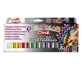 PlayColor Metallic 10 g - Estuche 12 u. col. surt.