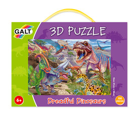Puzzle 3D: Dinosaurios temibles