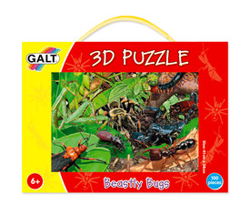 Puzzle 3D: Insectos