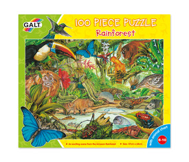 Puzzle selva tropical, 100 pzs.