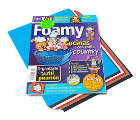 "Revista Foamy ""Cocinas con estilo country"""