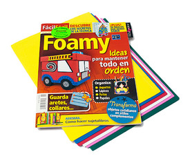 "Revista Foamy ""Ideas para mantener todo en orden"""