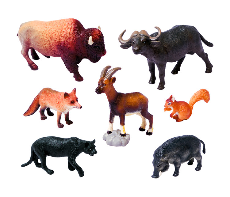 Set animales salvajes 4