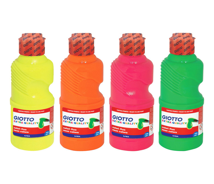 Témpera flúor, bote 250 ml