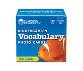 Vocabulary photo cards